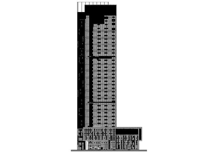 [江苏]南通国际贸易中心建筑工程项目施工图