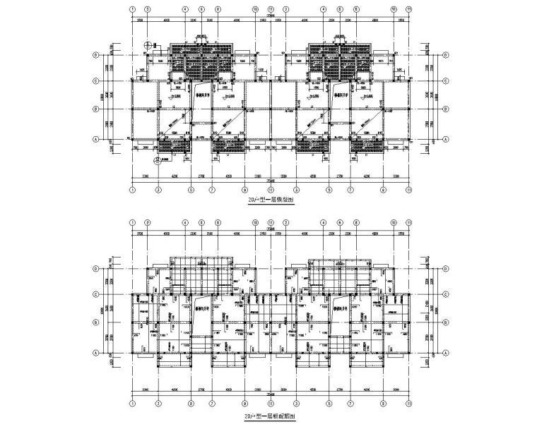 某六层住宅楼砖混结构设计施工图(CAD)