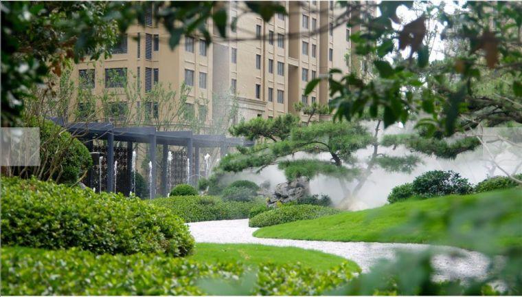 居住区景观设计要点解析&附150套居住区方案_11