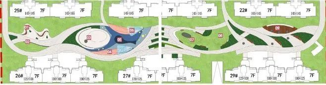 居住区景观设计要点解析&附150套居住区方案_9
