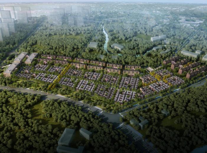 上海泰禾新江湾地块概念方案文本(5家方案)