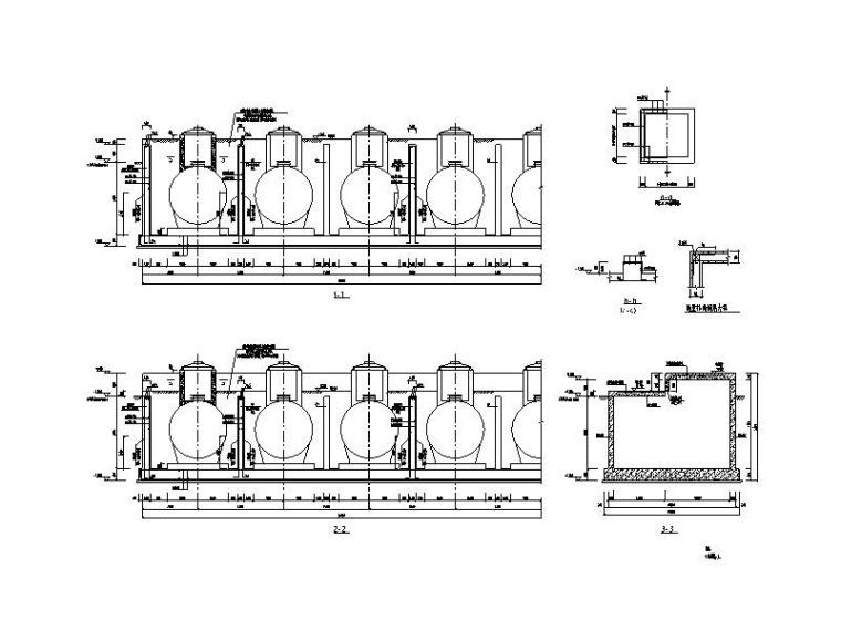 油库框架结构图纸含招标文件