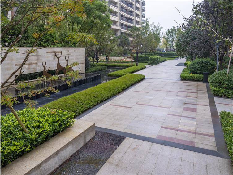 成都中海锦江城居住区景观