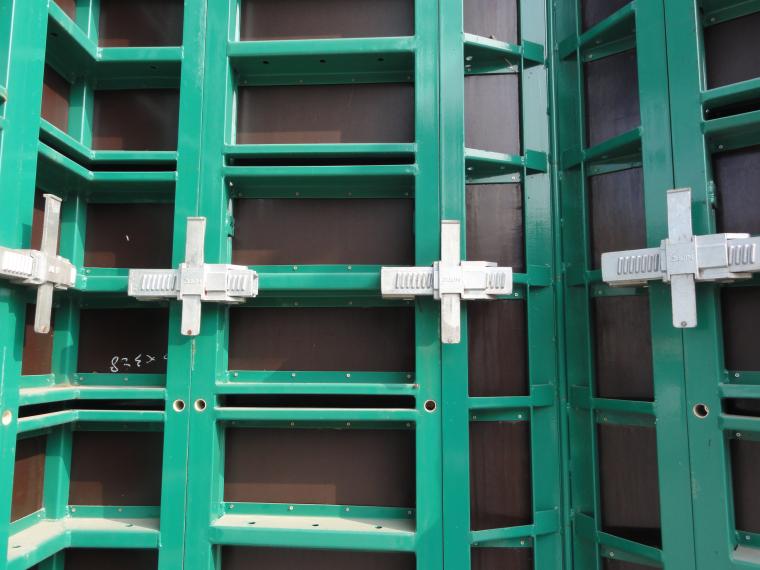 新型模板及脚手架技术培训讲义PPT(347页)-18空腹钢框胶合板模板