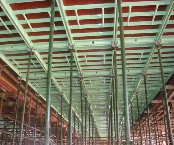 新型模板及脚手架技术培训讲义PPT(347页)-19铝框胶合板模板-独立式钢支撑