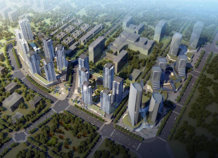 [重庆]中央公园鲁能城住宅方案设计