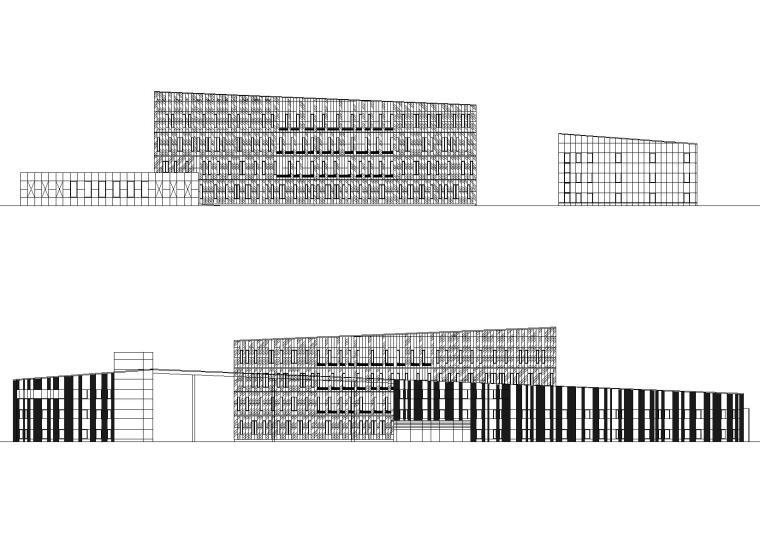 [上海]交通银行数据处理中心建筑工程施工图