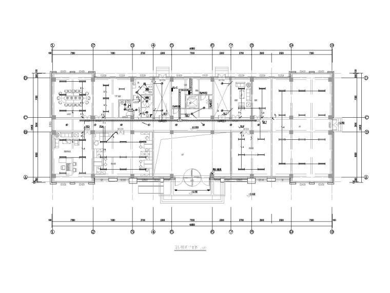 河北廊坊多层办公楼全套电气施工图(2019)