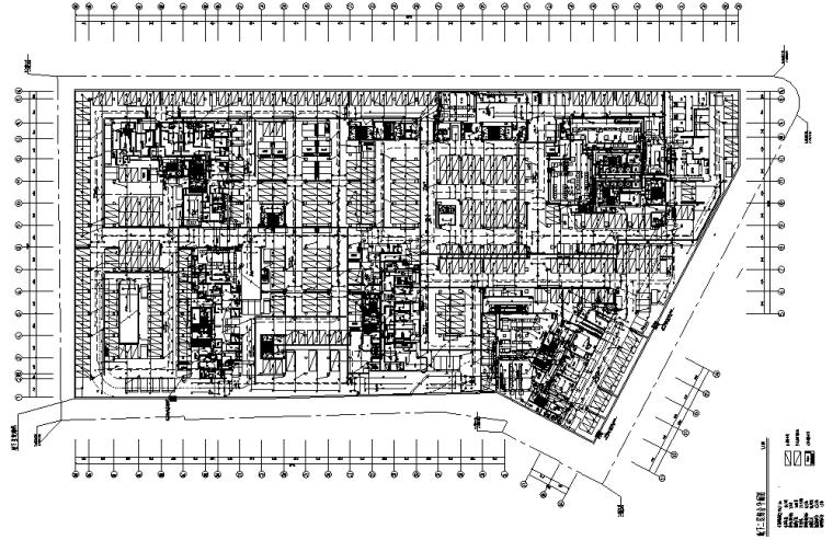 武汉城中村改造项目地下车库电气施工图