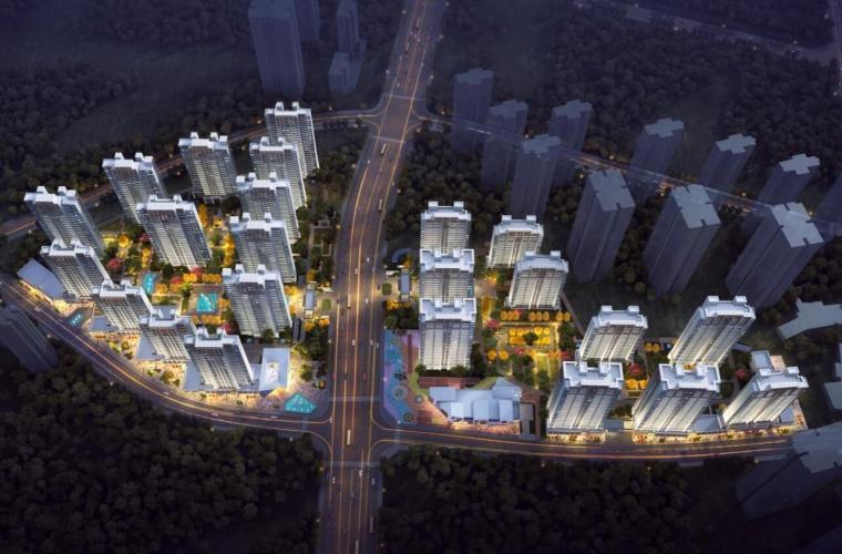 招商·西南区现代风格常规住宅类建筑方案
