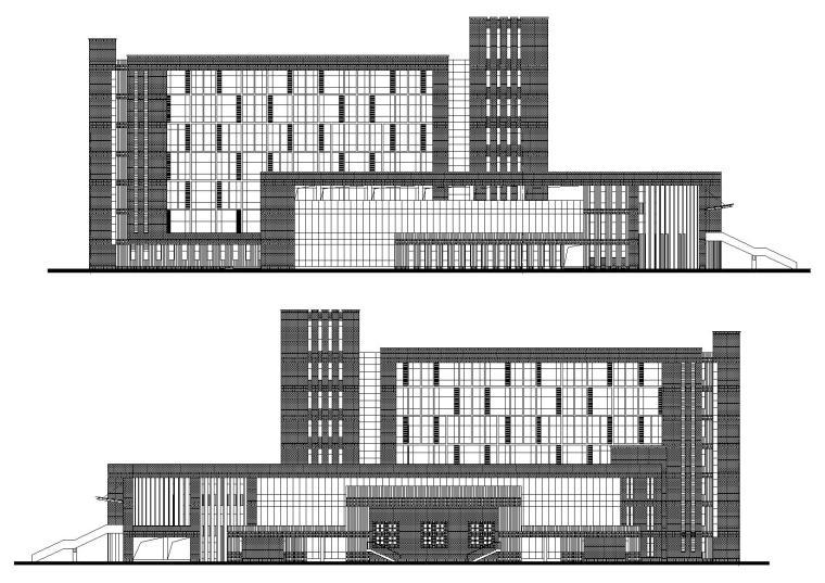 [江苏]盐城图书馆建筑工程项目施工图+文档