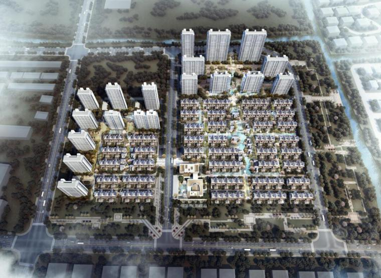 华东区域常规住宅类建筑概念方案设计