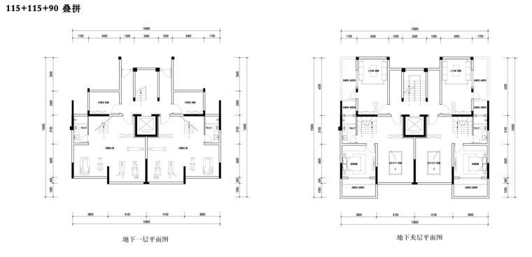 招商-华东区新中式风格常规住宅类建筑方案-叠拼设计2