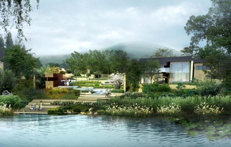 新中式顶级豪宅--南京九间堂景观设计方案