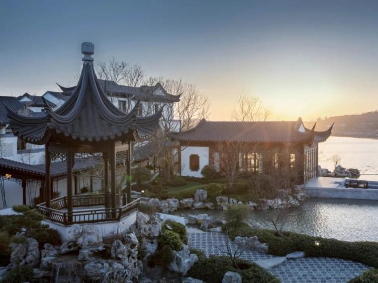 青岛蓝城桃李春风示范区景观