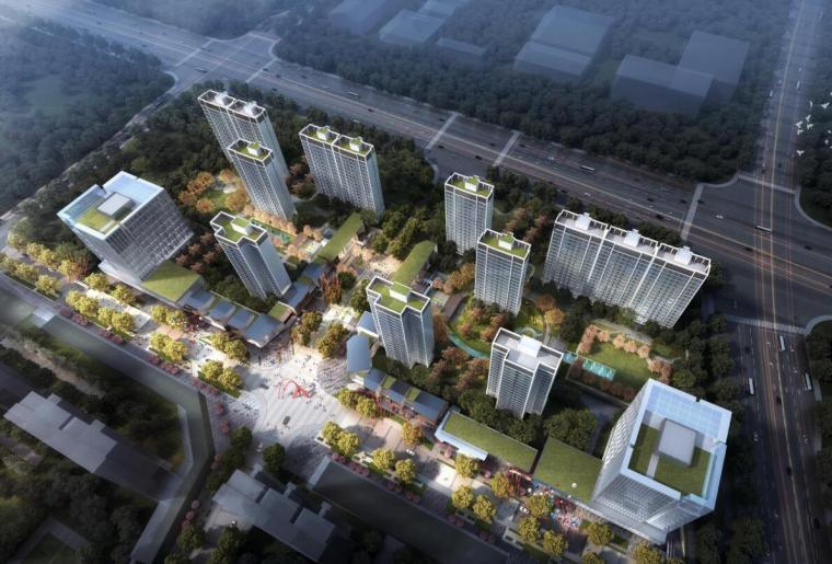 [北京]华北区现代风格住宅概念规划设计