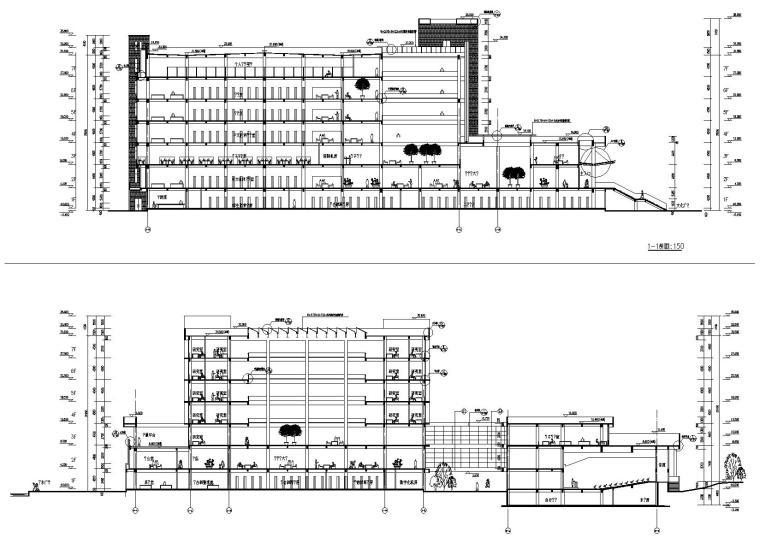 建筑剖面图