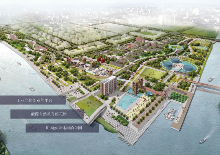 欧式独栋二层滨水资料下载-[江苏]南通通吕运河滨水空间景观设计方案