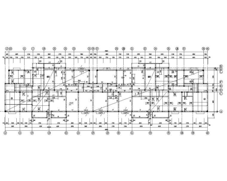 某五层砖混住宅结构施工图(CAD)