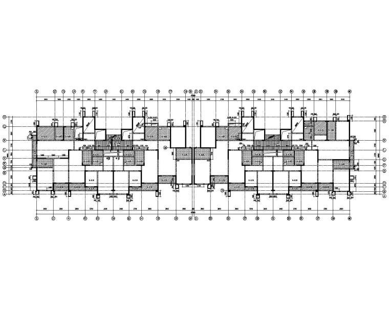 33层经典高层住宅剪力墙结构施工图(CAD)