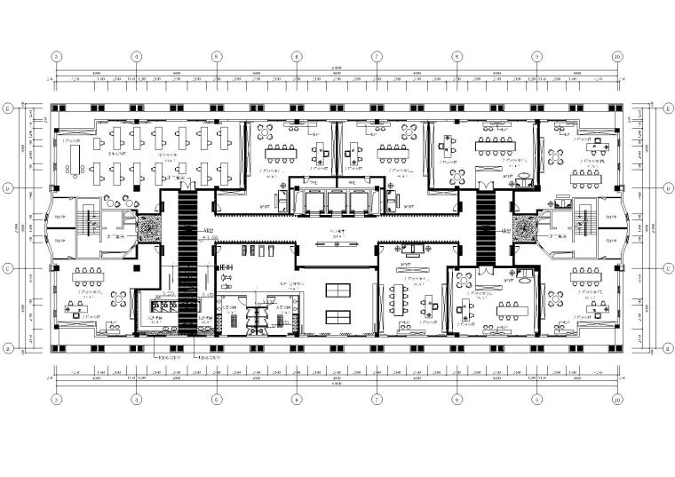 金一城市文化创意设计联盟综合楼施工图