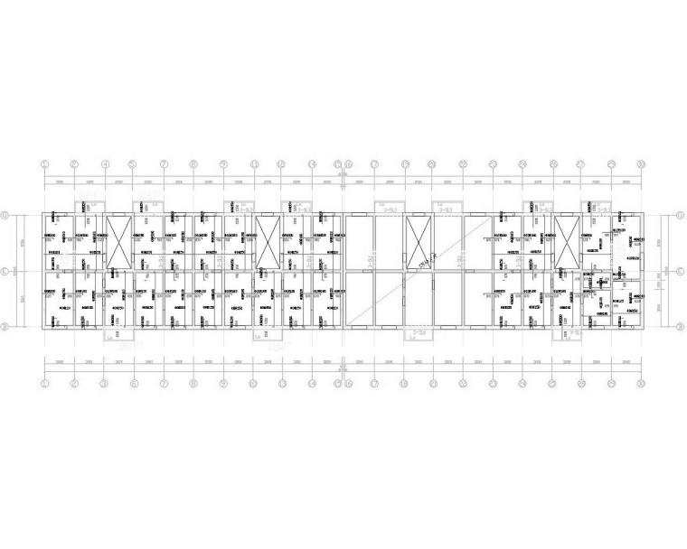 五层砖混结构住宅楼施工图(CAD)