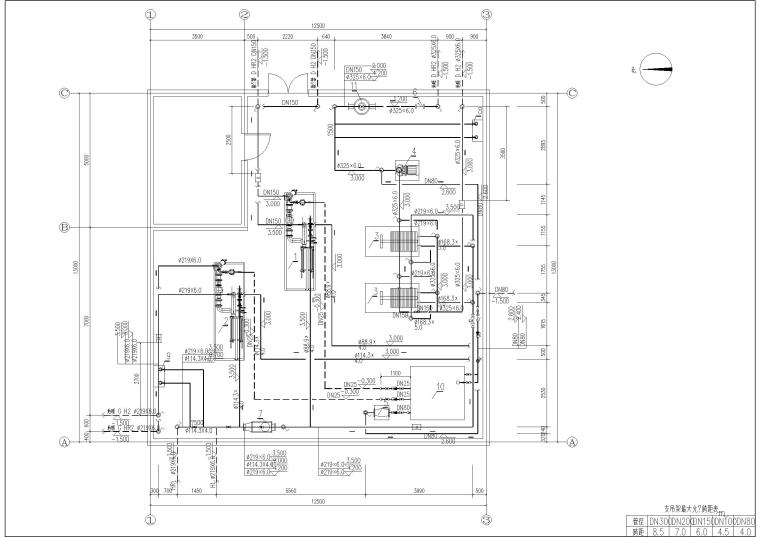 新村换热站系统设计
