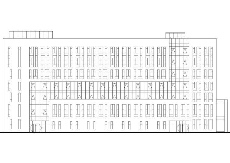 [北京]中国原子能研究院科技综合楼施工图