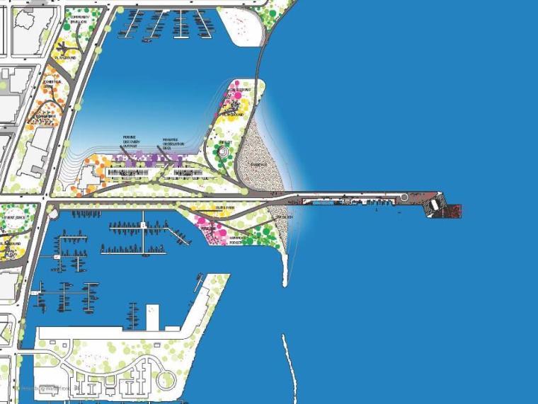 圣彼得堡码头复兴国际竞赛入围方案3套