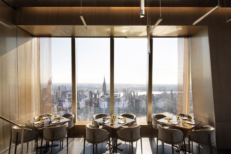 巅峰餐厅,俯瞰纽约一览无余的城市景观!