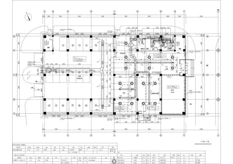 办公楼空调_采暖_通风及防排烟系统设计图