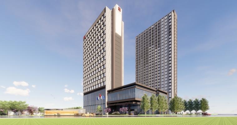 [河南]郑州新代时尚国际酒店景观设计方案