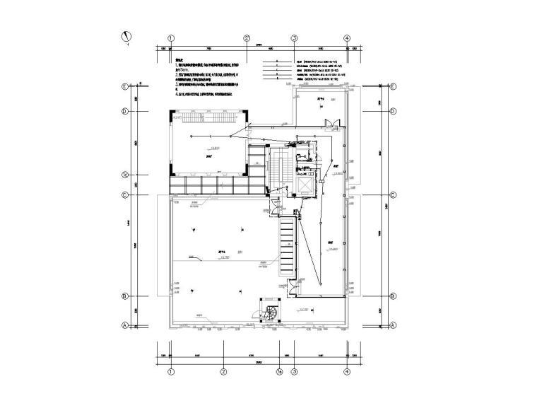 知名院_上海世博会展区弱电深化设计图纸