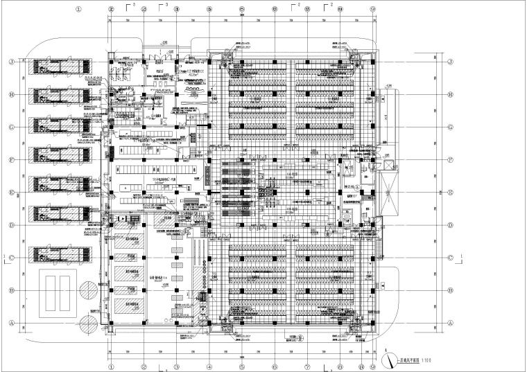 医用气体机房设计资料下载-数据机房的通风_事故通风_防排烟设计图2019