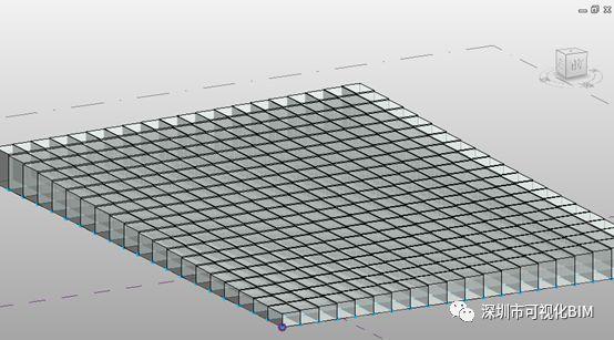 Revit自适应构件+干扰点在概念体量中的渐变