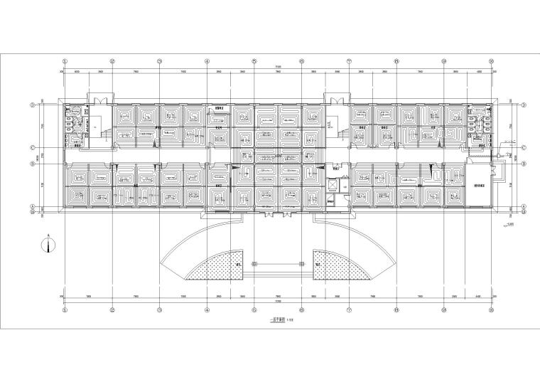 多层办公楼采暖空调系统设计2019