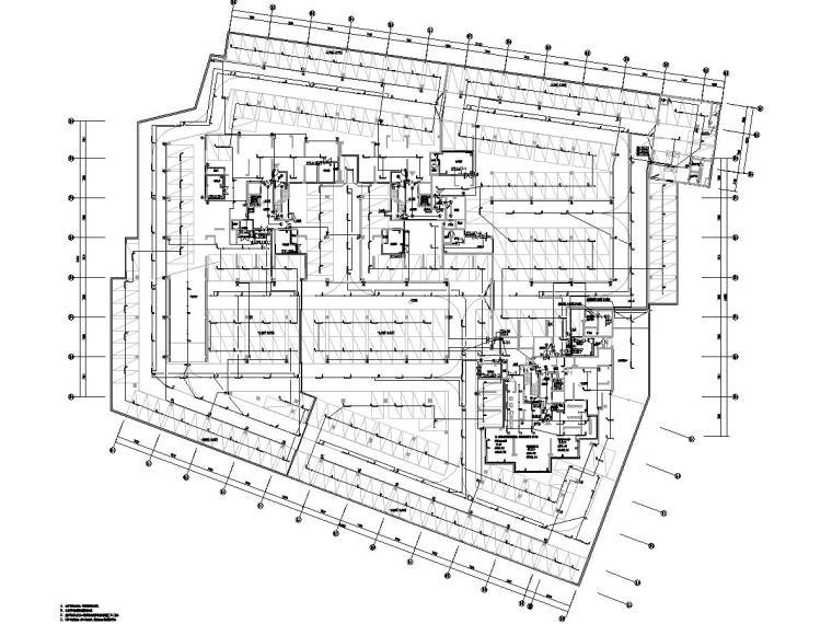 广东省某高层住宅小区电气图纸[含公区精装]