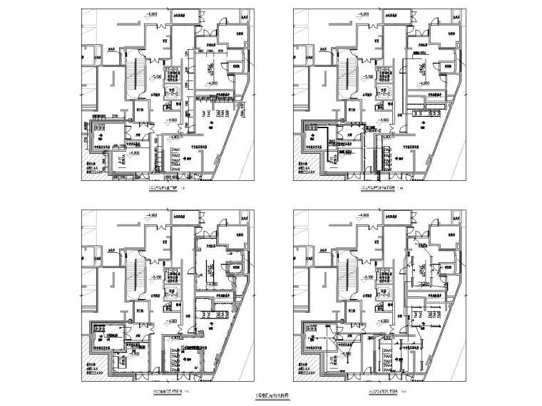 [一键下载]8套高层住宅楼电气施工图合集-甲级院_高层住宅及地下室电气图纸(2016)-广东省某高层住宅小区电气图纸[含公区精装]-配变电所大样图