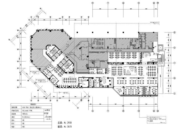 [一键下载]10套精选办公空间设计方案500M