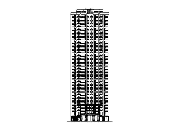 某知名地产住宅全套施工图(建结水暖电)
