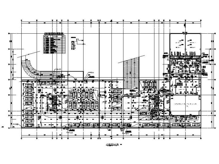 高层科研楼给排水_消防喷淋_灭火系统设计图
