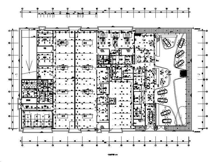多层建筑给排水_消防喷淋系统设计施工图