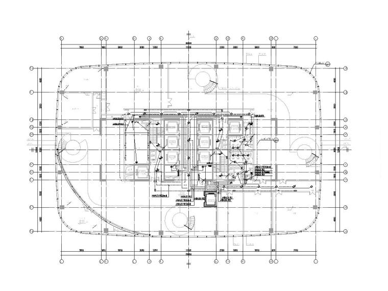 深圳市大型综合商业中心电气图纸[含智能化]