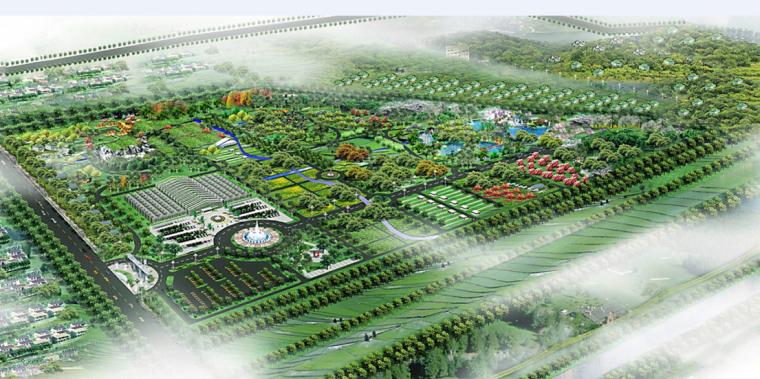 [安徽]蚌埠现代农业示范区景观设计方案