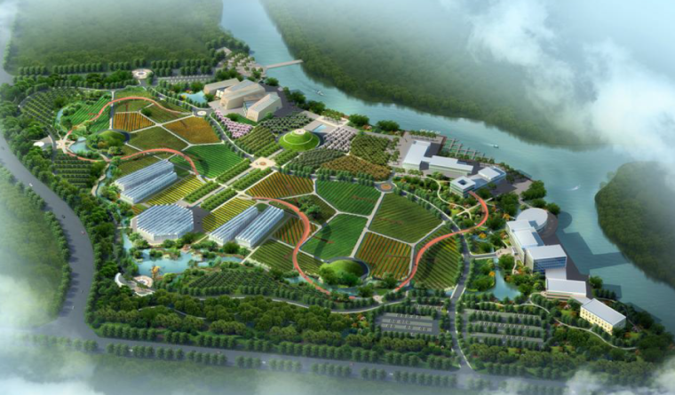 [浙江]现代科技休闲农业示范园景观设计方案