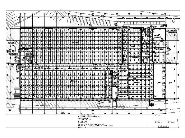 3万平方仓库给排水_消防系统设计施工图