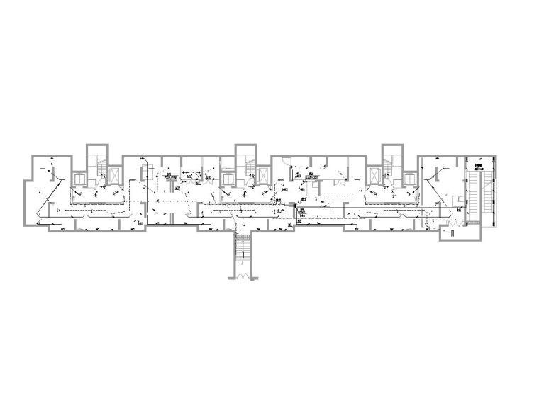 无锡大型住宅小区及配套建筑电气图纸(全)