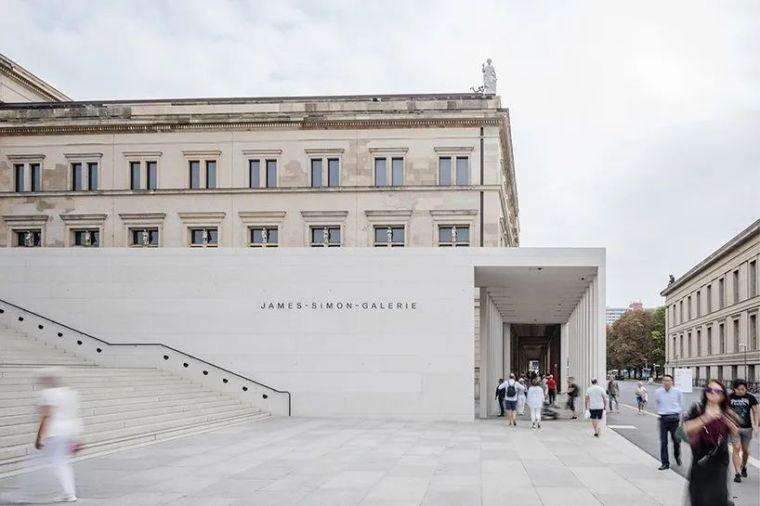 德国,柏林,詹姆斯·西蒙美术馆
