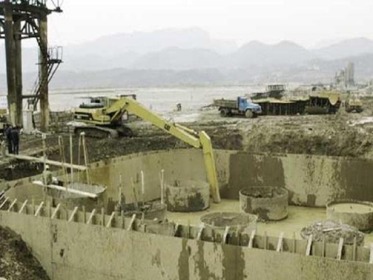 水利施工水流控制围堰工程