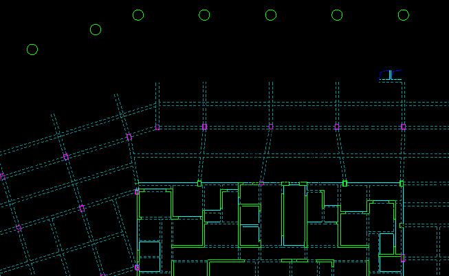 09 1#楼施工电梯基础布置图